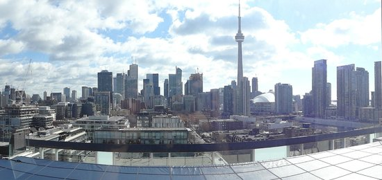 Thompson Toronto - A Thompson Hotel: View from the top floor lounge