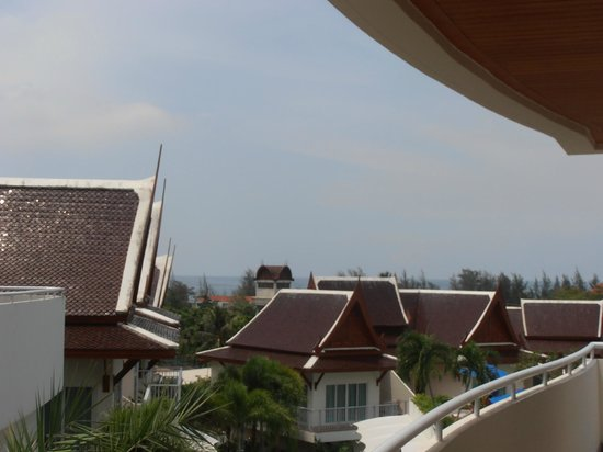 Karon Sovereign All Suites Resort: Sea view