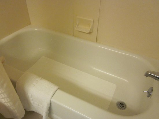 BEST WESTERN PLUS New Englander Motor Inn: Tub/shower combo
