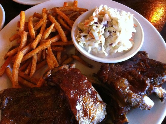 Winona Lake, IN: half slab of ribs
