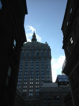 The Roosevelt Hotel: City View (note side facing rooms)