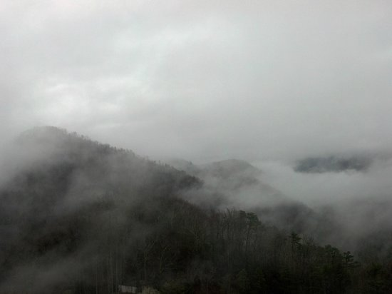 Park Vista - DoubleTree by Hilton Hotel - Gatlinburg: View from our balcony