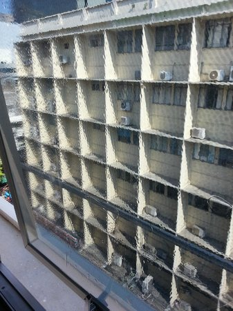 Swiss Lodge : Bubbly window film