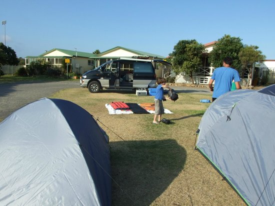 Wollongong Surf Leisure Resort: Unpowered camping area