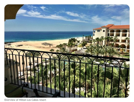 Hilton Los Cabos Beach & Golf Resort: View from our room