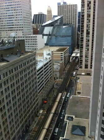 theWit, a Doubletree Hotel: View from 19th floor