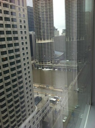 theWit, a Doubletree Hotel: View from 19th floor (sorry about the poor quality...)