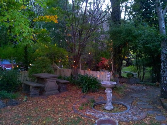 St. Mount's Boutique Hotel: Twilight garden