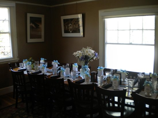 Table Setting At Baby Shower Picture Of The Corner