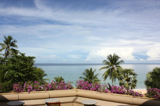 The Surin Phuket: View from the breakfast table