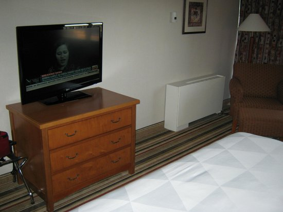 Clarion by Choice Hotel and Conference Centre: tv