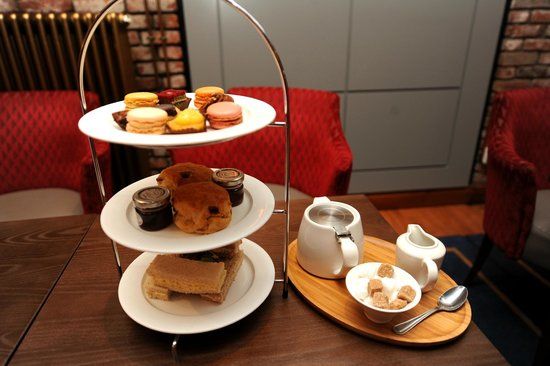Holiday Inn Glasgow City Centre Theatreland : Afternoon tea