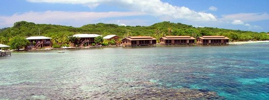CoCo View Resort: Over-water Cabanas and Ocean-Front rooms.