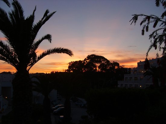 Clube Praia da Oura: Sunset