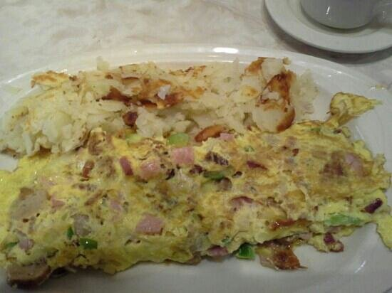 Alsip, IL: Number 14 the American omelette awesome also comes with toast or pancakes!!