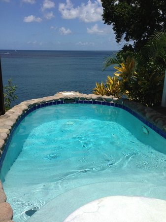 Ti Kaye Resort & Spa: Plunge pool during the day