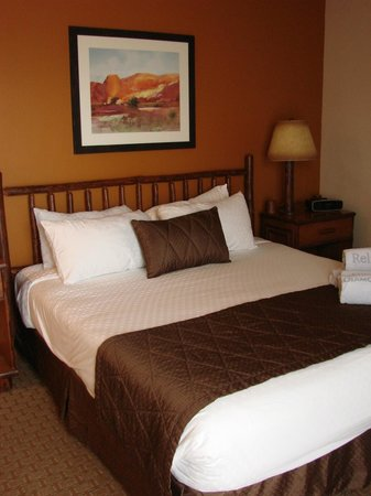 Bell Rock Inn: King bedroom