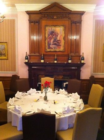 Judges Country House Hotel: restaurant