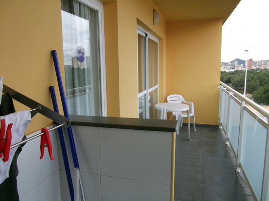 Terralta Apartments: Balcony
