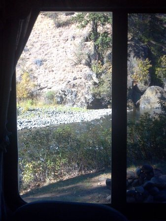 Squaw Rock Resort: View from our 5th Wheel, last fall