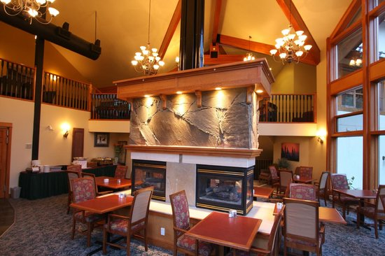 Sun Peaks, Kanada: Dining area