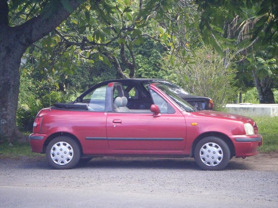 Pacific Resort Rarotonga: Little Travel Car