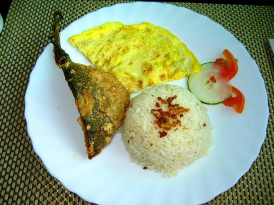 Tagaytay Wingate Manor: breakfast ala carte