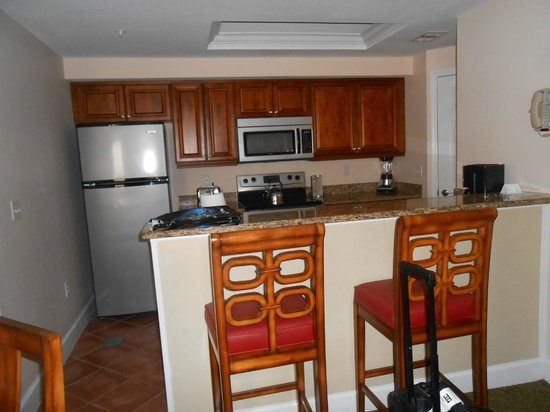 Grande Villas Resort: kitchen