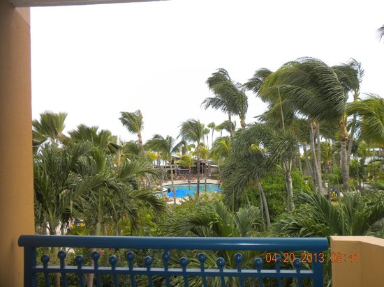 Radisson Aruba Resort, Casino &amp; Spa: View from our room