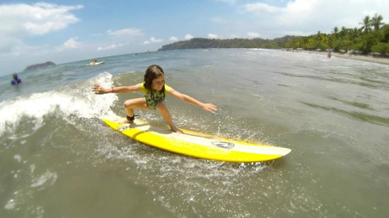 La Posada Private Jungle Bungalows: Surf lessons with Marco arranged through the hotel