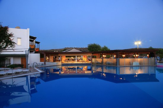 Parkim Ayaz Hotel: Pool sunset