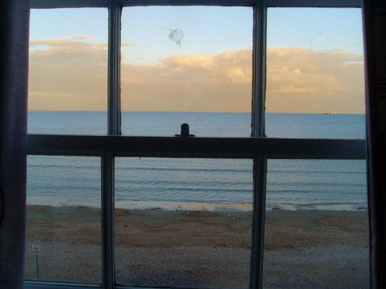 Seaspray Guest House: view from our window
