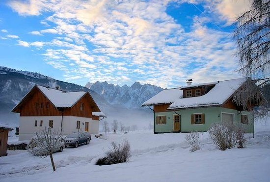 Beautiful Gosau in Winter time.