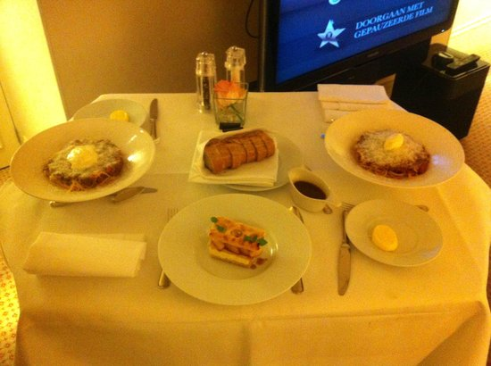 InterContinental Amstel Amsterdam: roomservice