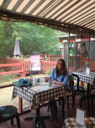 Lake Alfred, FL: back porch seating