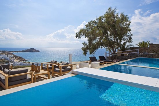 Myconian Ambassador Hotel & Thalasso Spa Center: Two bedroom Villa with private pool