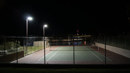 London Bridge Resort: LBR tennis court