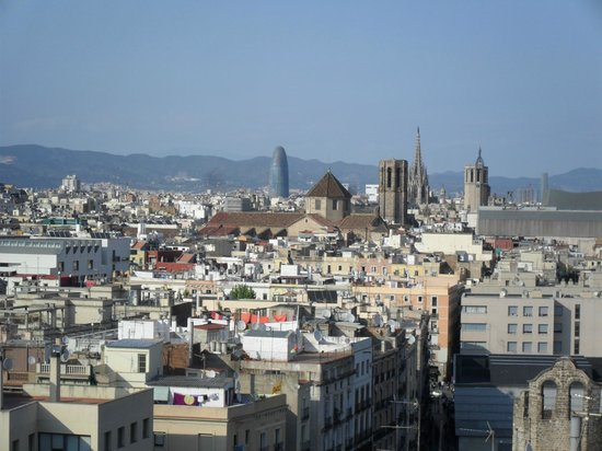 Barcelona Universal Hotel: The Gothic Cathedral