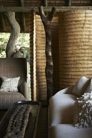Singita Private Game Reserve, South Africa: Singita Boulders Lodge lounge