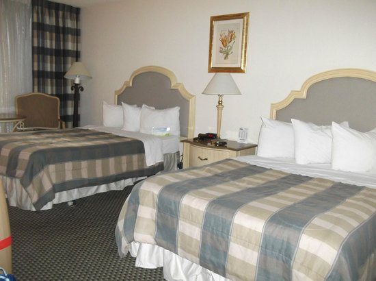 Days Inn Modesto : Les 2 lits king-size
