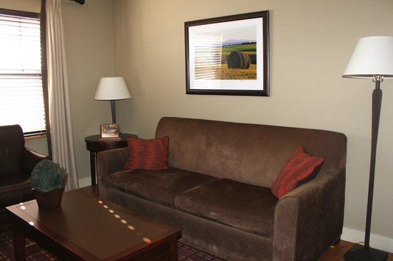 Green Mountain Suites Hotel: Sitting room area