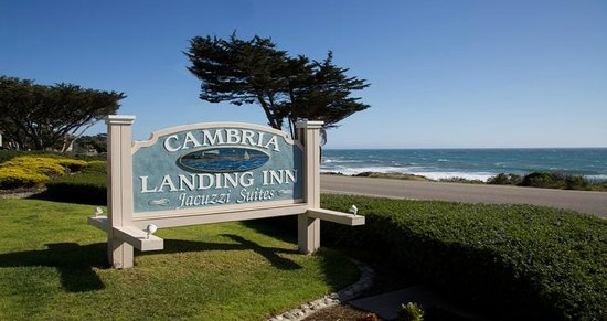 Cambria Landing Inn & Suites: Refreshed Sign