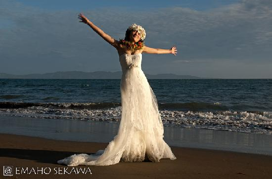 Emaho Sekawa Resort: Sekawa Beach Wedding