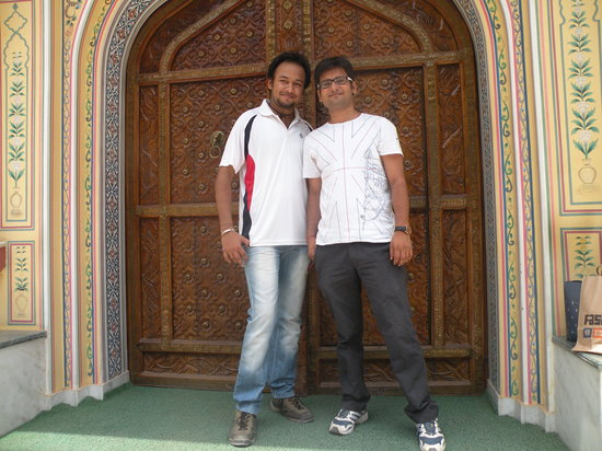 Hotel Baba Haveli: With Owner of Baba Haveli