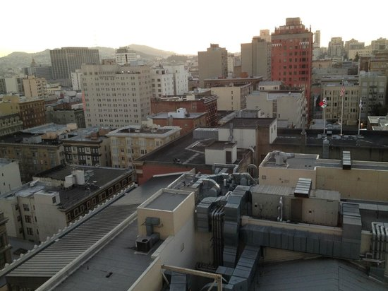 JW Marriott San Francisco Union Square: View from Room 1521