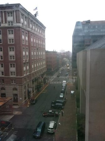 Courtyard by Marriott Boston Copley Square: my view from 6th floor - looking toward Boylston