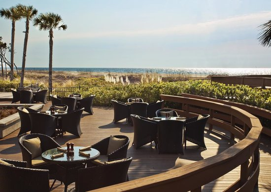 The Westin Hilton Head Island Resort & Spa: Oceanfront Dining Deck