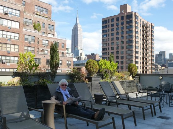 The Marcel at Gramercy: rooftop terrace