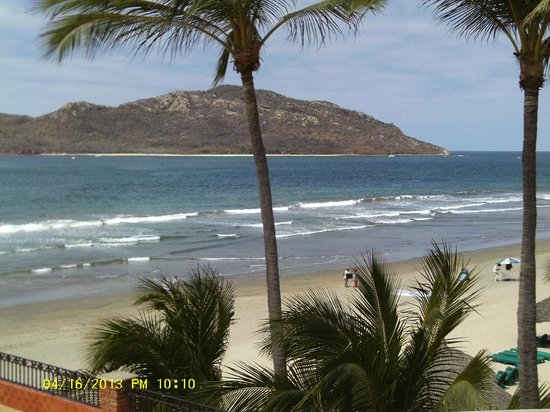 Hotel Playa Mazatlan: View from Our Room