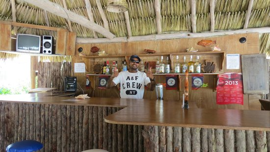 Royal Caribbean Resort: Josh the bartender at the Blue Heron Bar